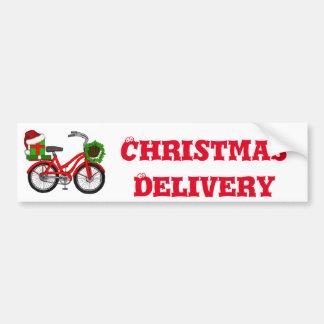 Adesivo Para Carro bicicleta do xmas