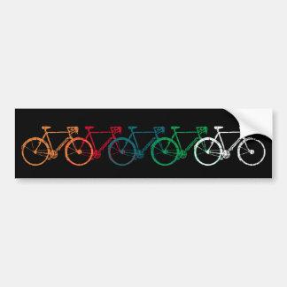 Adesivo Para Carro bicicletas de sobreposição coloridas