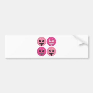 Adesivo Para Carro Biquini maravilhoso no rosa