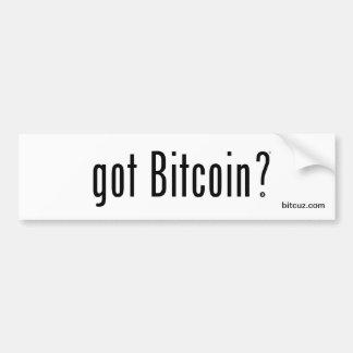 Adesivo Para Carro Bitcoin obtido?