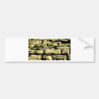 Adesivo Para Carro blocos do amarelo de rocha