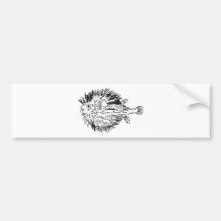 Adesivo Para Carro Blowfish do Porcupinefish aka