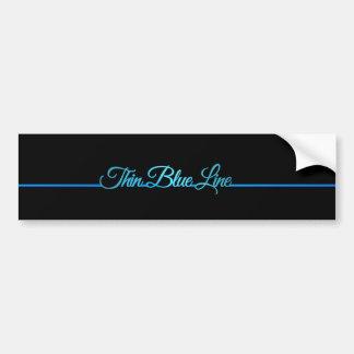 Adesivo Para Carro Blue Line fino