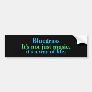 Adesivo Para Carro Bluegrass: Não apenas música, um modo de vida