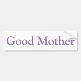 Adesivo Para Carro Boa etiqueta da mãe