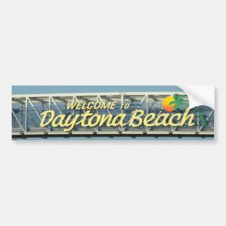 Adesivo Para Carro Boa vinda a Daytona Beach
