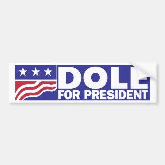 Adesivo Para Carro Bob Dole 1996 para o presidente
