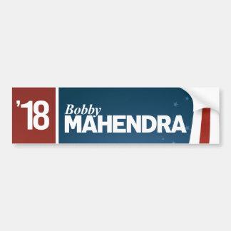Adesivo Para Carro Bobby Mahendra para o Senado