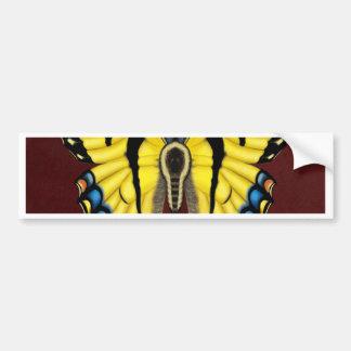 Adesivo Para Carro Borboleta de Swallowtail do tigre