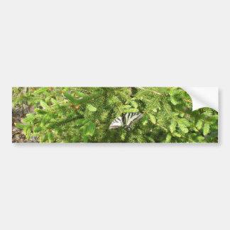Adesivo Para Carro Borboleta no ramo do pinho