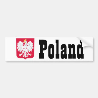 Adesivo Para Carro Brasão polonesa do Polônia