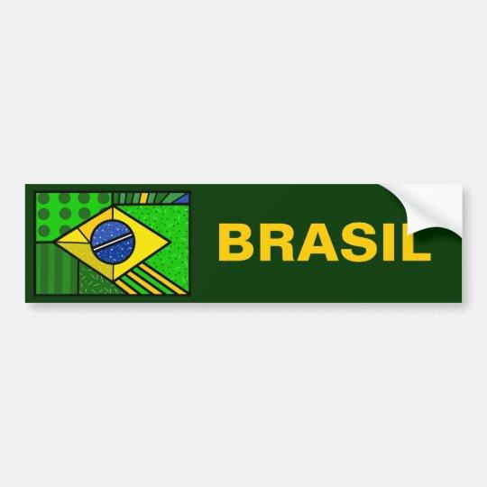Adesivo Para Carro Brasil Brazil brazilian flag
