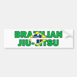 Adesivo Para Carro Brasileiro Jiu Jitsu