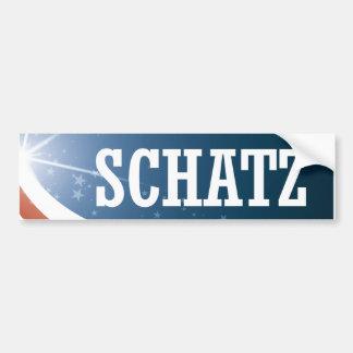Adesivo Para Carro Brian Schatz 2016