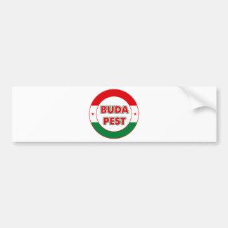 Adesivo Para Carro Budapest, circle, color