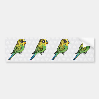 Adesivo Para Carro Budgerigar de Birdorable