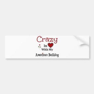Adesivo Para Carro Buldogue americano