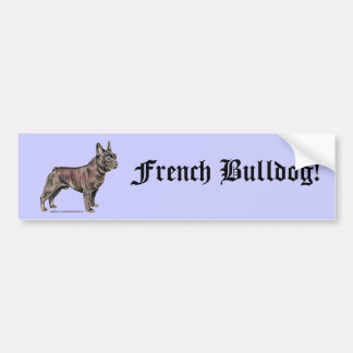 Adesivo Para Carro Buldogue francês!