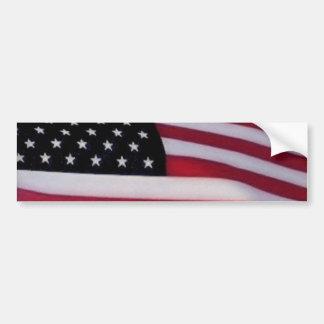 Adesivo Para Carro Bumpersticker da bandeira dos EUA