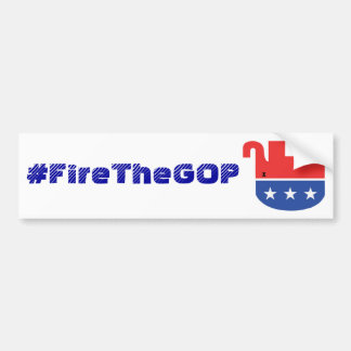 Adesivo Para Carro bumpersticker do #FireTheGOP