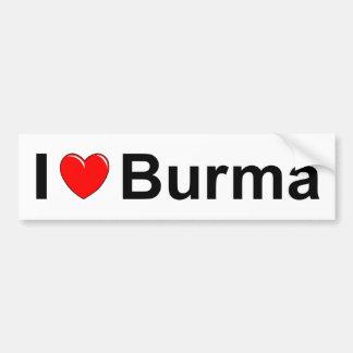 Adesivo Para Carro Burma