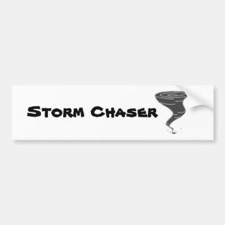 Adesivo Para Carro Caçador da tempestade - autocolante no vidro