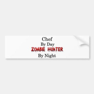 Adesivo Para Carro Caçador do cozinheiro chefe/zombi