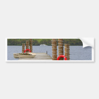 Adesivo Para Carro Cais da baía do pato, Loch Lomond, Scotland