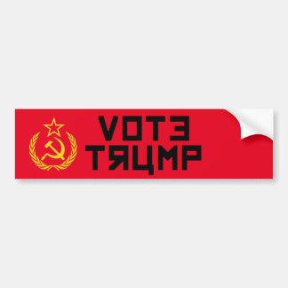 Adesivo Para Carro Camarada do trunfo do voto