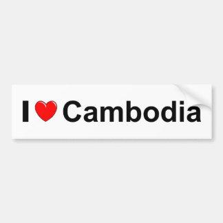 Adesivo Para Carro Cambodia