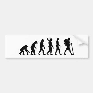 Adesivo Para Carro Caminhada da evolução