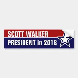 Adesivo Para Carro Caminhante de Scott em 2016