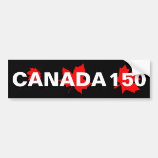 Adesivo Para Carro Canadá 150 anos de aniversário um--um-amável