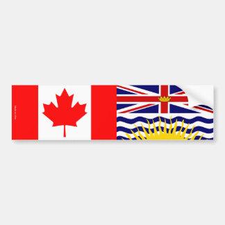 Adesivo Para Carro Canadense & autocolante no vidro traseiro da