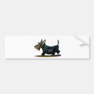 Adesivo Para Carro Cão do Scottie