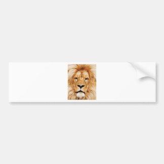 Adesivo Para Carro cara do leão yeah
