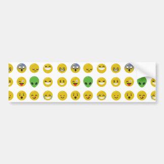 Adesivo Para Carro Cara feliz de Emoji