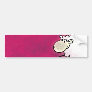 Adesivo Para Carro carneiros pequenos bonitos