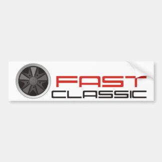 Adesivo Para Carro Carro clássico rápido: Roda de carro da