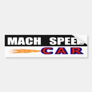 Adesivo Para Carro Carro da velocidade do Mach