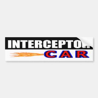 Adesivo Para Carro Carro do interceptor