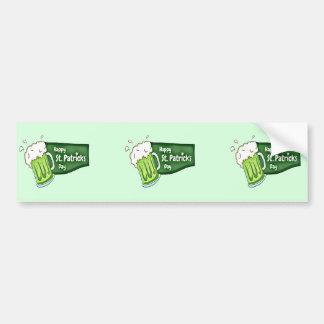 Adesivo Para Carro Cerveja feliz do dia do St. Patricks