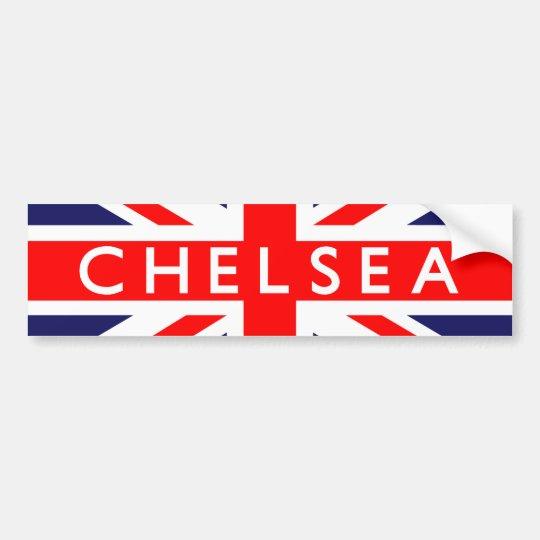 f87f8388e57af Adesivo Para Carro Chelsea  Bandeira britânica