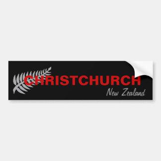 ADESIVO PARA CARRO CHRISTCHURCH, NOVA ZELÂNDIA