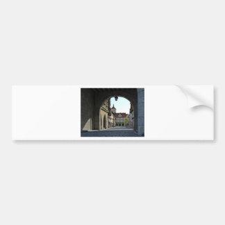 Adesivo Para Carro Cidade de Baviera através de um arco