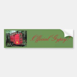 Adesivo Para Carro Cigano oficial! Caravana vermelha do viajante