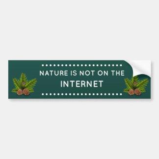 Adesivo Para Carro Citações engraçadas da natureza e do Internet