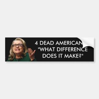 Adesivo Para Carro Clinton - que diferença faz?