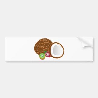 Adesivo Para Carro Cocos tropicais do quivi