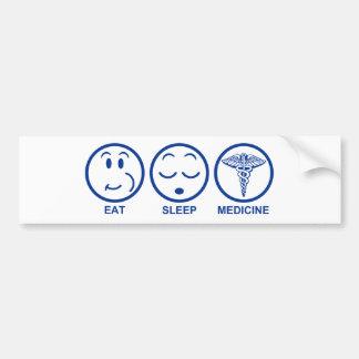 Adesivo Para Carro Coma a medicina do sono